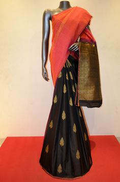 Stylish Patli Kanjeevaram Silk Saree Product Code: AC200313 Online Shopping: http://www.janardhanasilk.com/index.php?route=product/product&search=AC200313&description=true&product_id=4494