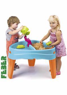 Feber 800010238 - mesa y arenero juguete Feber Play Island Table, IndalChess.com Tienda de juguetes online y juegos de jardin