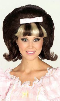 $17   60's Flip Wig - Hairspray Tracy Wig - Candy Apple Costumes