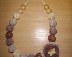 Necklace Multicolor Exclusive by NursingNecklaceShop on Etsy
