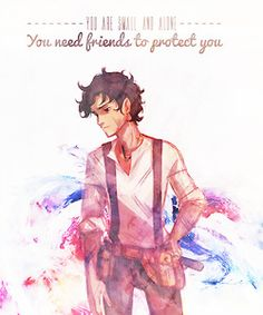 Leo Valdez! I think he's my favorite (tied with Percy). Also, this fan art of him is amazing.