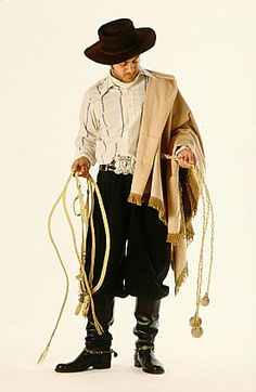 Gaucho of the Pampas - Argentina.