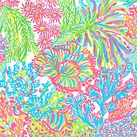 Lovers Coral Lilly Pulitzer Patterns, Lilly Pulitzer Prints, Lily Pulitzer, Isle Of Capri, Hidden Figures, Pretty Patterns, Fabric Patterns, Swatch, Hand Painted