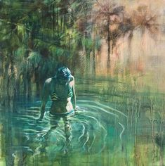 I Go To The River painting by Karen Wykerd | StateoftheART