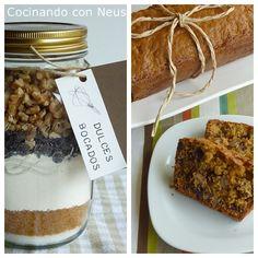 quick bread de chocolate y nueces