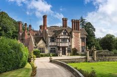 Savills - Country Houses present this 8 bedroom detached house in Chownes Mead Lane, Haywards Heath, West Sussex, Interesting Buildings, Beautiful Buildings, Beautiful Homes, English Manor Houses, Castles In England, Cottage Design, Cottage Homes, Little Houses, Victorian Homes