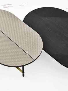 Gallotti e Radice Salone del Mobile 2018 Furniture Dining Table, Cool Furniture, Kitchen Interior, Modern Interior, Wooden Coffee Table Designs, Coffe Table, Center Table, Nesting Tables, Vintage Table