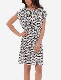 Printed Flutter Dress from THELIMITED.com