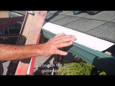 How it Works | Grater Gutter Guard – G3 | Gutter Guards | Aluminum Gutter Guard