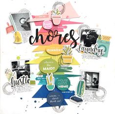 CHORES by Audrey Yeager - Stamp & Scrapbook EXPO
