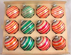 Vintage Shiny Brite Ornaments