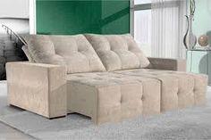 Resultado de imagem para sofa azul turquesa retratil
