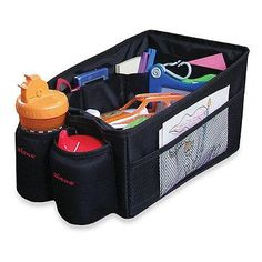 Designed to keep books and toys neat and organized, this Travel Pal™ has a deep cargo bin for toys and more!
