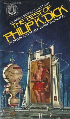 VINCENT DI FATE - art for The Best of Philip K. Dick by Philip K. Dick - 1977 Del Rey / Ballantine