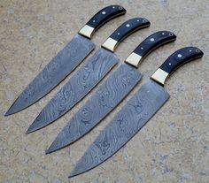 Handmade Chef Kitchen Knives by DamascusShop