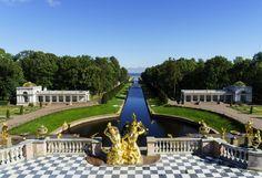 Palacio Peterhof by pedro_pablosantos  arquitectura viajes Palacio Peterhof Rusia San Petersburgo mar Baltico pedro_pablosantos