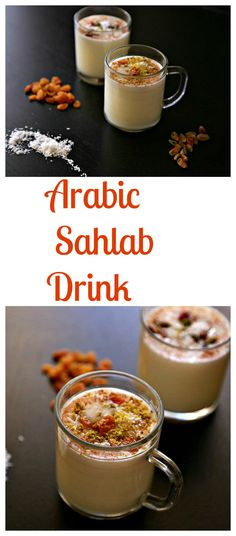 "An easy to make unique milky drink ""Sahlab"" that is healthy and flavorsome. Surprise your family/friends this weekend, and stay warm this winter!"