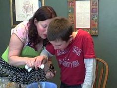 Cooking with your kids with disabilities. Go ahead -- make a mess! It's fun, and an opportunity to teach valuable skills.
