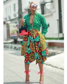 See Angel Obasi addressed as Style Connaisseur latest Ankara dresses, African print blazers for women, stylish Ankara short dresses and skirts African Print Dresses, African Print Fashion, African Fashion Dresses, African Attire, African Dress, Fashion Prints, African Prints, African Tops, African Outfits