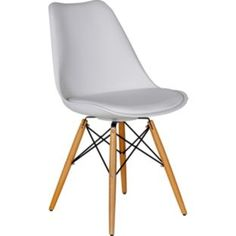 Buy Hygena Charlie White Chair at Argos.co.uk - Your Online Shop for Dining chairs.