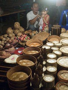 Local handicrafts - Luang Prabang, Laos
