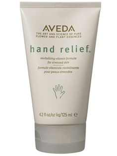 Aveda Hand Relief. Pretty much the cream-of-the-crop of hand creams.....