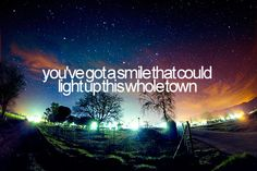 Light up this town