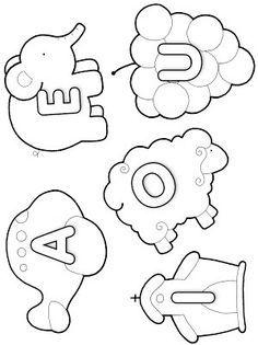Alfabeto para Colorir - Vogais & Consoantes - Atividades para Educação Infantil