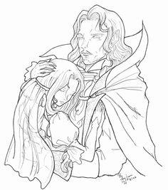 Bilderesultat for castlevania dracula and lisa fanfiction