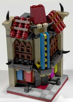 MOC : mini modular palace cinema - LEGO Town