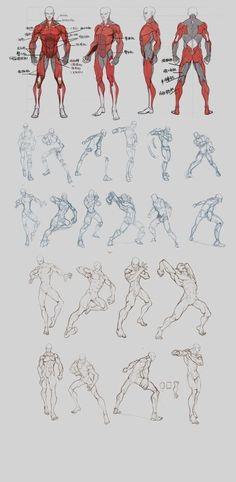 Man Anatomy Sketch Concept Art Body Study Muscles Dynamic Posing Shadows Texture Lights Sketchbook Character Draw  /  Hombre Dibujo  Estudio de Cuerpo Músculos Pose Dinámica  Sombras Texturas Achurado Luces Dibujo de Personaje Cuaderno de Dibujo