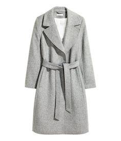 Mantel aus Wollmischung | Graumeliert | Damen | H&M AT