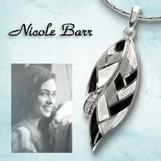 The Black and White Harlequin Collection - adds unique lines, shades and shapes to the classic monochrome look.  See all earrings and pendants set with white sapphires: http://www.nicolebarr.com/category/?category=&collection=Harlequin&color=Black-White&material=&stone=&adv_search=&submit=Search