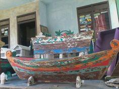 Reclaim boat bench