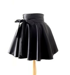 Hey, I found this really awesome Etsy listing at https://www.etsy.com/listing/109988647/wet-look-circle-skirt-high-waisted-skirt