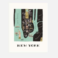 New York Print, 40€, now featured on Fab.