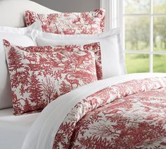 Alpine Toile Duvet Cover & Sham, Pottery Barn