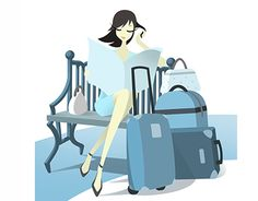 """Check out new work on my @Behance portfolio: """"She Travels"""" http://on.be.net/1Ijmlf0"""