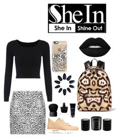 """""""Animal In She"""" by aleksak ❤ liked on Polyvore featuring WearAll, Casetify, Givenchy, Lime Crime, NIKE, Yves Saint Laurent, Narciso Rodriguez, NARS Cosmetics, Diptyque and black"""