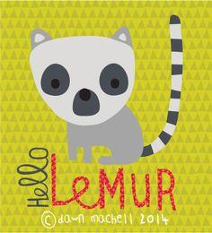 HELLO LEMUR - DAWN MACHELL - pop-i-cok