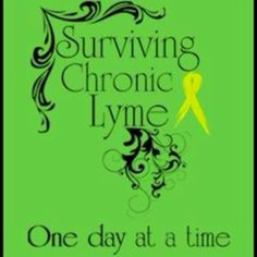 Surviving chronic Lyme  - one day at a time