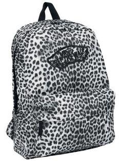 Vans Backpack in Leopard Print!
