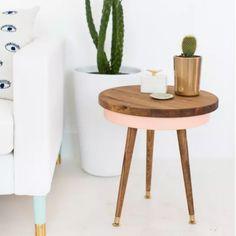 Une table basse rétro