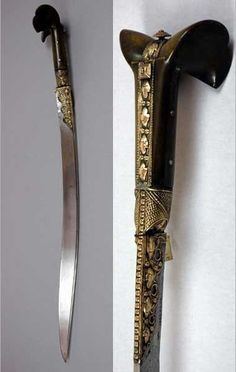 Yataghan sword 1884