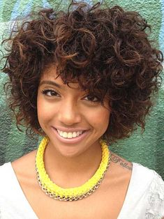 short curly weave hairstyles for black women Cute Short Haircuts, Cute Hairstyles For Short Hair, Black Women Hairstyles, Weave Hairstyles, Short Hair Cuts, Curly Hair Styles, Medium Hairstyles, Teenage Hairstyles, Hairstyles Videos