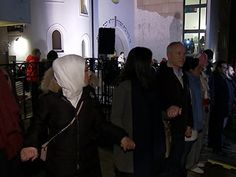 More Than A Thousand Muslims Form Human Shield Around Norwegian Synagogue After Copenhagen Attacks. This made me proud of being Norwegian in the sense that we must be doing something right to create a desire to bridge the gap caused by the past decades of terror.