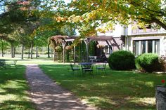 Settlement Courtyard Inn & Lavender Spa | Door County Lodging | Fish Creek