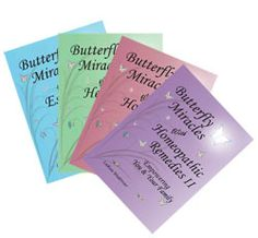 www.butterflyexpress.org - SALE: additional 10% off, save even more when you buy more than one book! These books are the best resources for information about Essential Oils, Herbs, and Homeopathics. Butterfly Express is from a small town in Idaho (near where I live) and I love attending their classes.