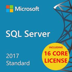 Microsoft SQL Server 2014 Standard SP3 with 32 Core License unlimited User CALs
