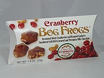 Cranberry Bog Frogs 3 Pack from the Wisconsin Cranberry Discovery Center - a perfect stocking stuffer!